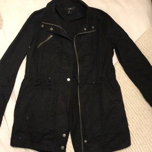 Woman's Black Utility jacket